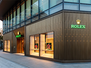 写真:レキシア 名古屋栄ラシック店を名古屋市中区錦3丁目に移転し、「ロレックス ブティック レキシア 名古屋栄店」 として拡大オープン